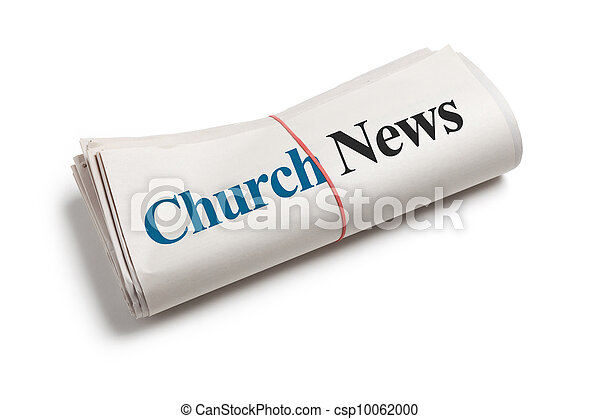 Stock Photo - Church News - stock image, images, royalty free photo ...
