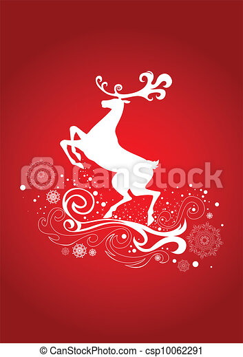 Graceful Reindeer - csp10062291