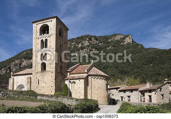 Beget, Catalonia, Spain - csp1006373