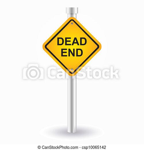 dead end sign - csp10065142