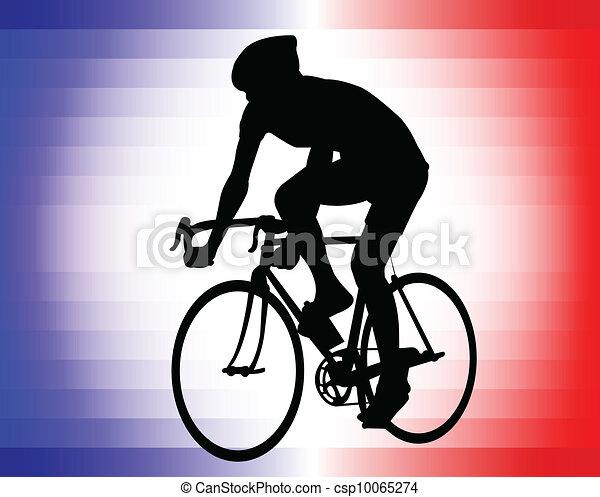bicyclist - csp10065274