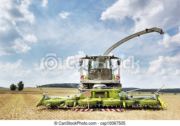 Combine harvester and thresher - csp10067505