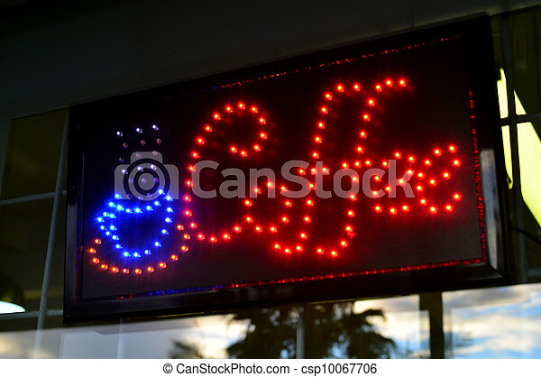 Coffee Place Sign - csp10067706