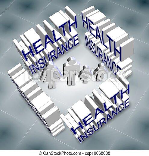 family health insurance - csp10068088