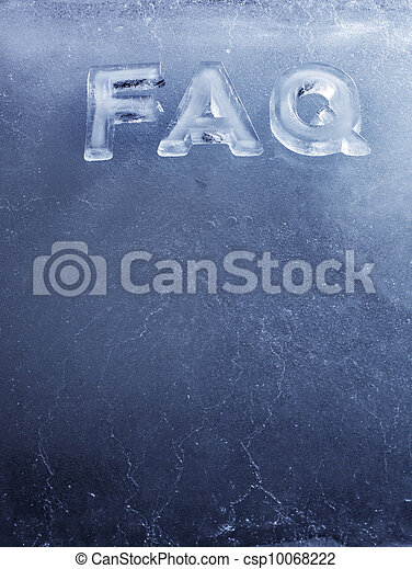 Ice FAQ - csp10068222