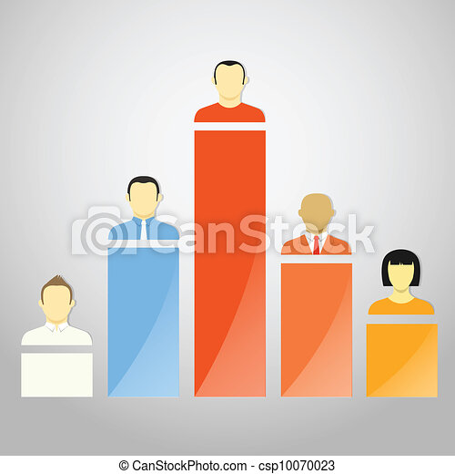Color chart columns with account avatars - csp10070023