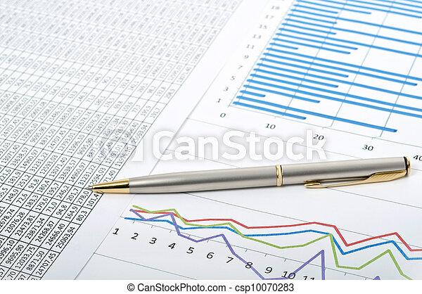 Charts and diagrams - csp10070283