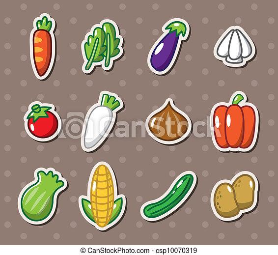 vegetable stickers - csp10070319