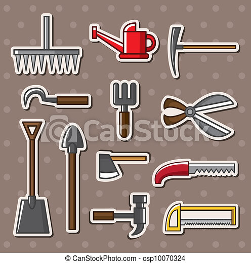 tools stickers - csp10070324
