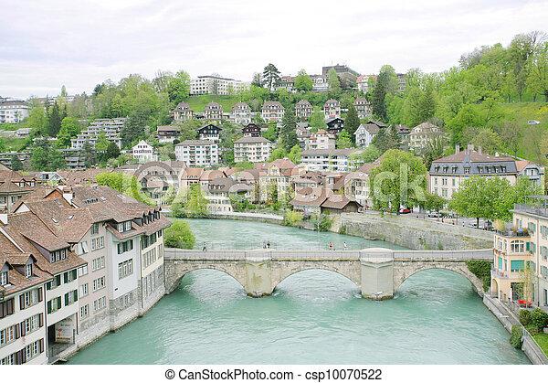 Bern, Switzerland, World Heritage Site by UNESCO  - csp10070522