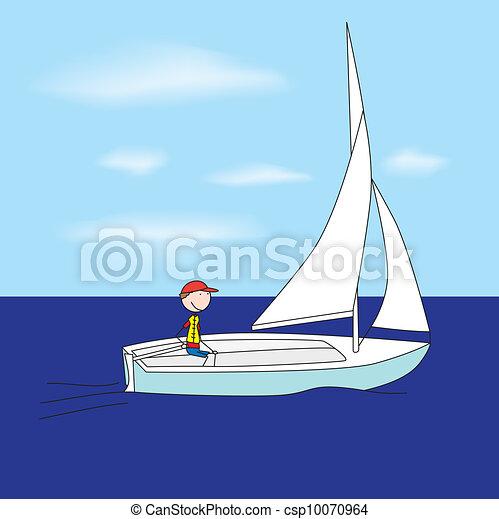 Small sailboat - csp10070964