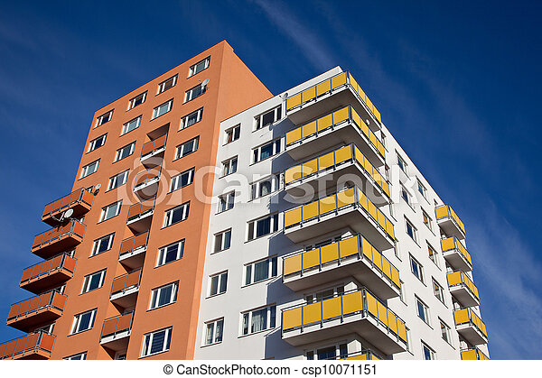 Residential building - csp10071151