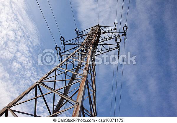 库存照片-电, 高压线塔