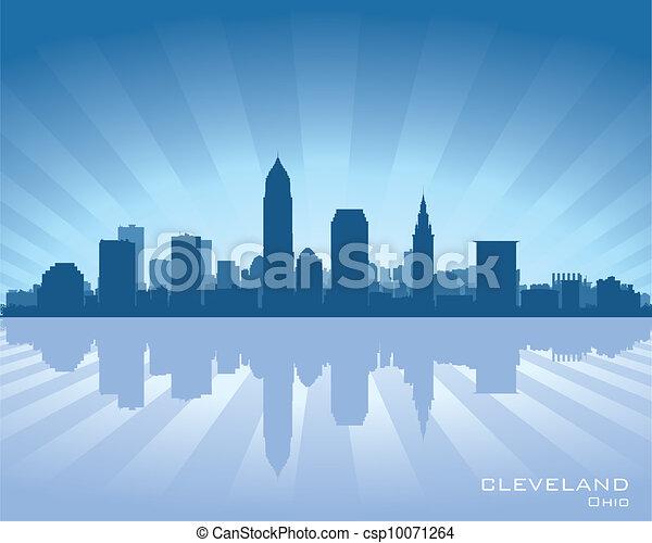 Cleveland, Ohio skyline - csp10071264