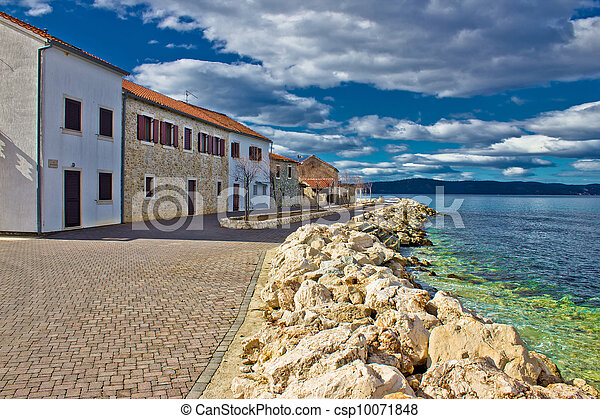 Dalmatian Town of Bibinje waterfront - csp10071848