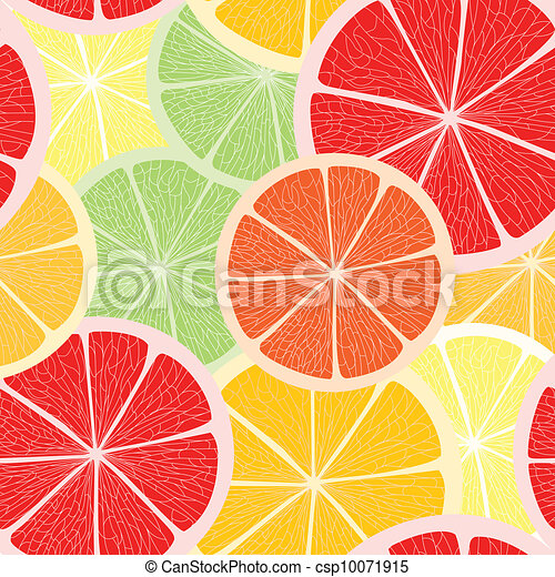 Citrus seamless background - csp10071915