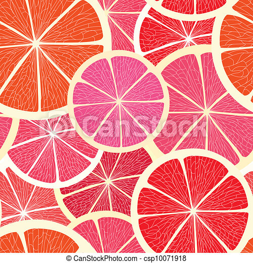 Citrus seamless background - csp10071918