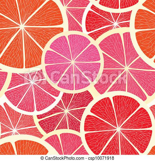 Citrus seamless background - csp10071918