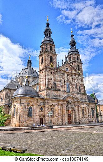 Fuldaer Dom (Cathedral) in Fulda, Hessen, Germany - csp10074149