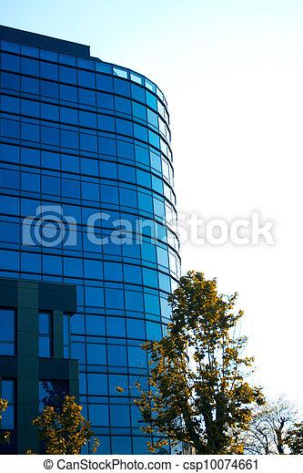 玻璃圆顶建筑物