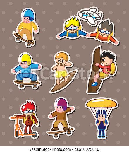 extreme sport stickers - csp10075610