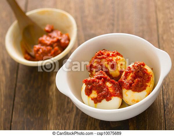 sambal telur - csp10075689