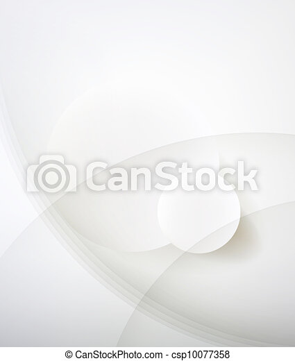 Abstract minimalist design in a light tone. Two circle. - csp10077358