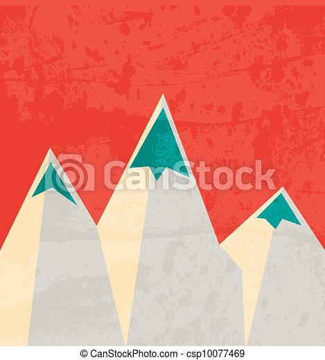 Mountain landmark. Landscape - csp10077469