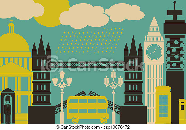 London View - csp10078472