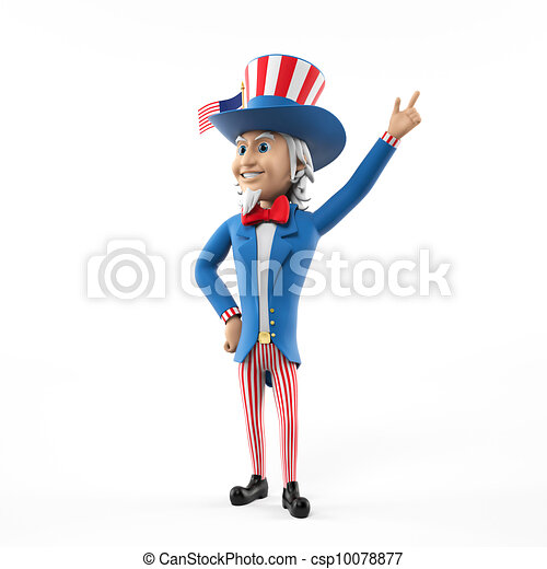 uncle sam - csp10078877
