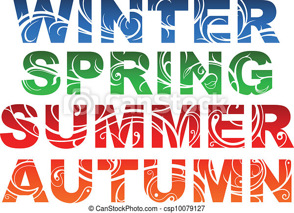 Seasons - csp10079127