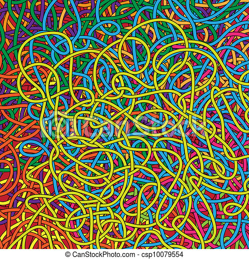 背景, 複雑, ロープ - csp10079554 背景, 複雑, ロープ, 虹, 色お気に入り