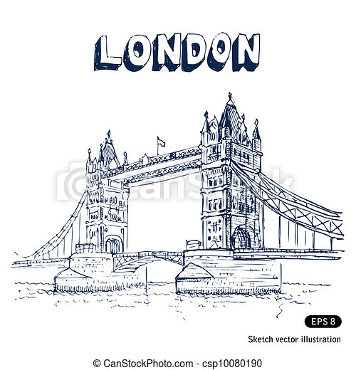 Tower Bridge in London - csp10080190