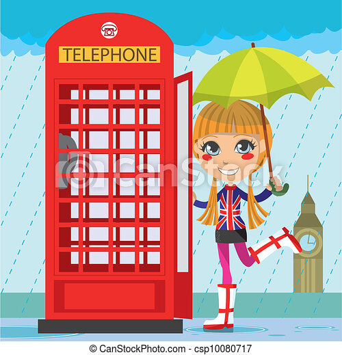 telephone booth clip art