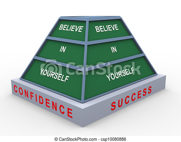 Believe in yourself - csp10080886