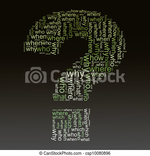 questions words tags - csp10080896