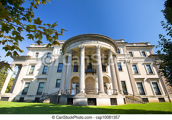 Vanderbilt Mansion Hyde Park NY - csp10081357