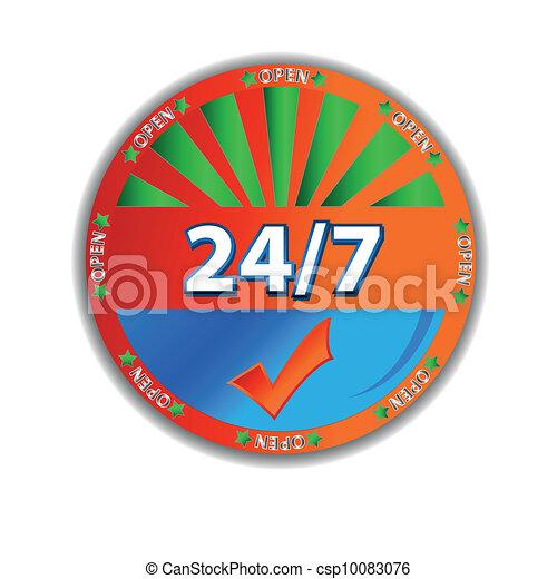 Unique service icon - csp10083076