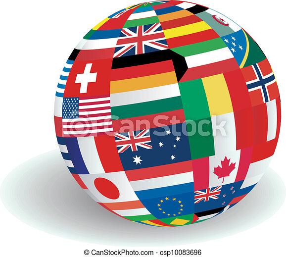 World Flags illustration - csp10083696