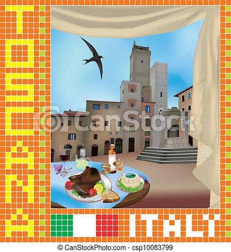 Tuscan Mosaic 2 - csp10083799