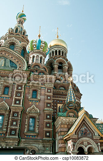 Church of our savior on the spilled blood - csp10083872