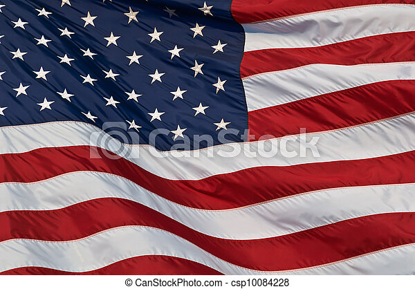 United States of America flag. - csp10084228