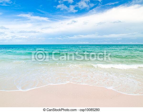 Idyllic Scene Beach at Samed Island, Thailand