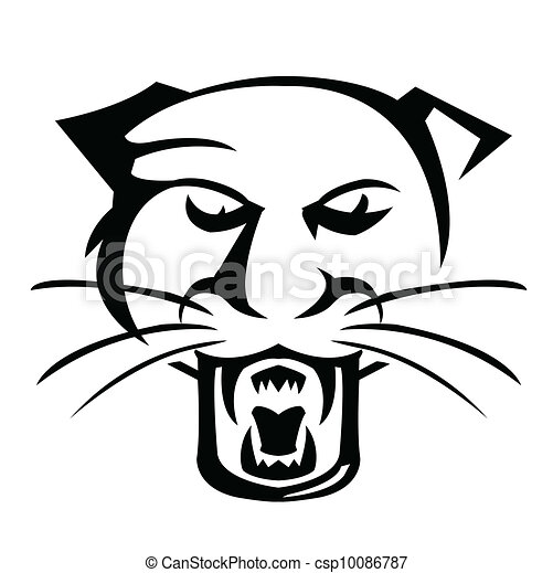 Vector of Panther Vector Illustrator csp10086787 - Search Clip Art ...