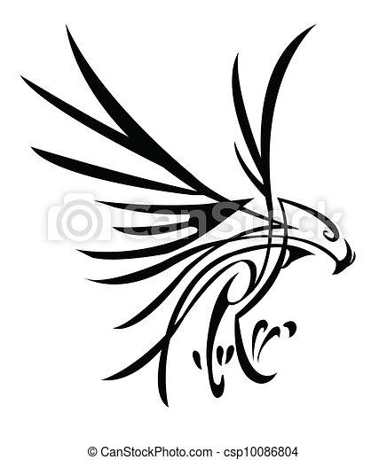 eagle tattoo - csp10086804