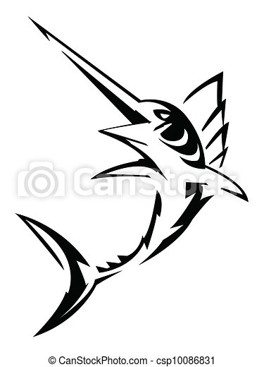 Vecteurs de marlin csp10086831 recherchez des images - Dessin espadon ...