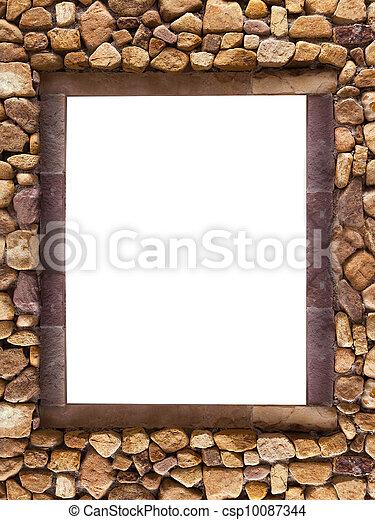库存照片-框架, 石头, spa, 背景