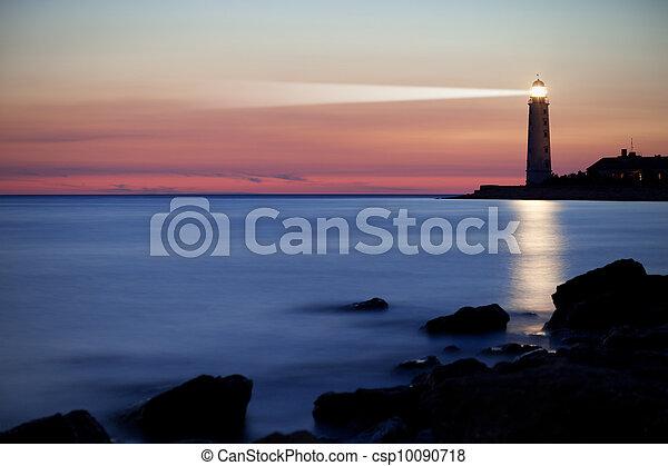 Lighthouse on the coast - csp10090718