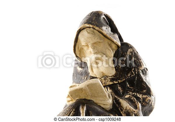 Franciscan monk - csp1009248