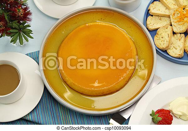 Creme Caramel - csp10093094